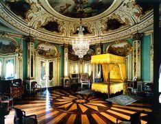 Quarto D. Quixote - Palacio de Queluz - Portugal © Luís Pavão