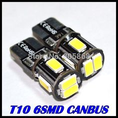 $4.75 (Buy here: https://alitems.com/g/1e8d114494ebda23ff8b16525dc3e8/?i=5&ulp=https%3A%2F%2Fwww.aliexpress.com%2Fitem%2FHot-Sale-External-Lights-10x-Error-Free-T10-Canbus-Led-w5w-194-5630-5730-6Smd-Light%2F2001686694.html ) Super Bright!! 10 X T10 led W5W T10 canbus 5630 6SMD Canbus NO ERROR 12V Car Auto led Bulbs Indicator Light Parking Lamps White for just $4.75