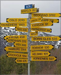 Long way to Tippur... Alta Norway