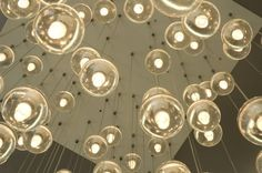 I WILL have these in my home one day, I've been dreaming about them for years now....  Bocci Lights