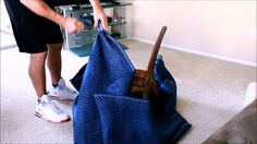 How to pack chair | Qshark Moving