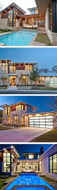 Projeto excepcional de uma estrutura multifacetada - uniquely multifaceted interior home design - Cat Mountain Residence