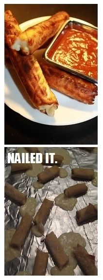 27. Cheese Sticks | Community Post: 31 Horrendous Pinterest Fail Monstrosities