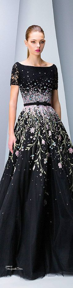 #Gowns-Belle of the Ball! *Georges Hobeika Fall 2015 RTW ♔THD♔