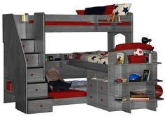 Useful Bunk Bed Design For Teens