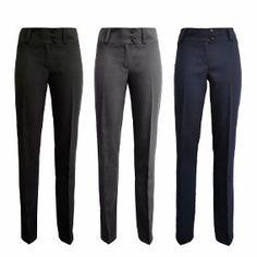 Modelos de pantalones de vestir para oficina  #modelos #modelosdevestir #oficina #pantalones #vestir Work Fashion, Trousers, Suits, Women, Style, Blazers, Outfit, Black Dress Pants, Woman Dresses