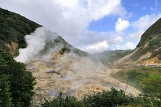St. Lucia is home to the world's only drive in volcano - the boiling and bubbling Sulphur Springs are accessible by road