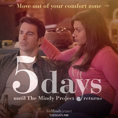 5 days until #TheMindyProject returns