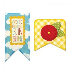 Sizzix Bigz Die - Banners Item #658540 die cut for fabric and paper by mix3arts on Etsy https://www.etsy.com/listing/566135413/sizzix-bigz-die-banners-item-658540-die