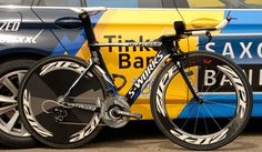 Saxo Bank-Tinkoff Bank's Specialized SHIV - SRAM RED - Zipp 808 Firecrest & Disc wheels