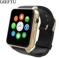 37.69$  Watch now - GIEFTU GT88 GSM SIM Card Bluetooth Sports Smart Watch with Camera Heart Rate Monitor NFC Smartwatch for Android and IOS   #SHOPPING