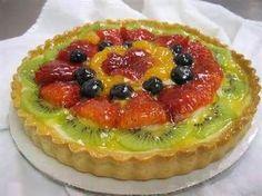 TERTE & ROLKOEKE - SOET South African Desserts, South African Recipes, Kit Kat Brownies, Fruit Flan, Fridge Cake, Flan Recipe, Meringue Cookies, Tart Recipes, Desert Recipes