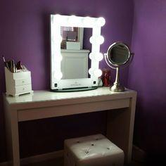 Impressions Vanity Hollywood Glamour Vanity Mirror via Jodi A.  https://instagram.com/impressionsvanity/