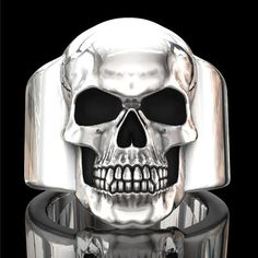Homme Cool anneau en acier inoxydable grande AAA Stone Bague Band Taille 7-12#