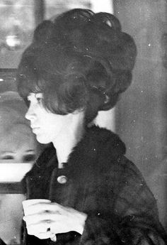 Walter proudly shows his newly big teased hair Teased Hair, Bouffant Hair, 1960s Hair, Beehive Hair, Big Hair Dont Care, Nostalgia, Retro Hairstyles, Short Hairstyles, Hair Raising