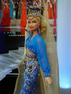 Miss Daghestan ♥ 2013/14  by NiniMomo's Barbie.