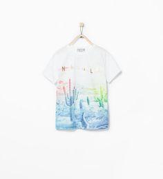Shirt met Nevada-print-T-shirts-Jongens (3-14 jaar)-KINDEREN | ZARA Nederland