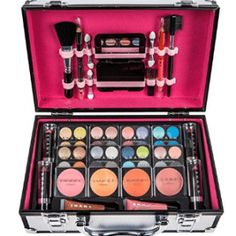 Shop for Makeup Sets in Makeup. Buy products such as BR Makeup set - Eyeshadows, blush, lip g, SHANY Boutique 40 color palette at Walmart and save. Make Up Kits, Present For Girlfriend, Christmas Gifts For Girlfriend, Cosmetic Kit, Cosmetic Brush Set, Best Drugstore Makeup, Makeup Dupes, Makeup Train Case, Makeup Training