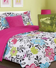 Take a look at this Pink Kate Comforter Set on zulily today!