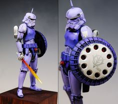 [When Gundam Meets Star Wars] kunyho78's Custom 1/12 GYAN TROOPER: Full REVIEW www.gunjap.net/site/