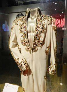 The King suit today at Graceland
