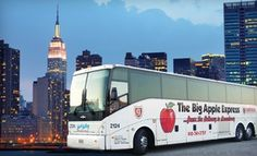 Groupon - $ 27 for a Same-Day Round-Trip Bus Ride to New York City from Hunt Valley Motor Coach ($55 Value) in On Location. Groupon deal price: $0.27