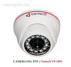 Camera IP Vantech VP-180S độ phân giải 1.0 Megapixel, HD 720P, có 36 đèn High Power LEDs Ø5, khả năng nhìn ban đêm lên tới 20m, dễ dàng lắp đặt và sử dụng, phần mềm thân thiện. Camera IP Vantech VP-180S dạng bán cầu và được trang bị hồng ngoại để quan sát ban đêm rất tốt.  Camera có kiểu dáng đẹp mắt, mẫu mã sang trọng, sản phẩm có độ ổn định cao, phù hợp lắp đặt camera cho văn phòng, nhà dân, các khu chung cư, siêu thị, nhà sách, bệnh viện