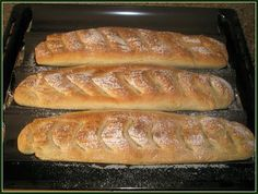 Barras de pan con masa rápida Thermomix
