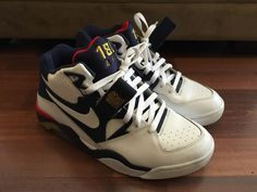 0ed6faf50 Nike Air Force 180 White White-Mid Navy-Gold Dream Team Pack 310095