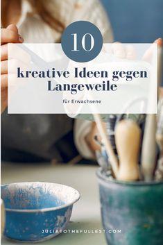 10 kreative Ideen für den Lockdown oder Langeweile. Hier zeige ich euch meine Top 10 DIY Bastelideen für Erwachsene, die super gegen Langweile und Stress helfen. Alles was du brauchst, für eine kreative Auszeit. Lockdown Ideen
