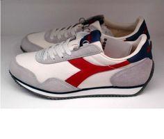 Diadora Heritage Track Mens Royal Sports Athlectic Walking Running ShoesSIZE9,10 #Diadora #Walking