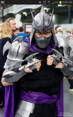 glitzy geek girl shredder cosplay tutorial halloween pinterest cosplay tutorial cosplay and tutorials