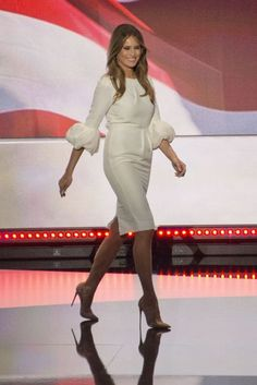 What We Can Expect From Melania Trump's FLOTUS Wardrobe? | British Vogue