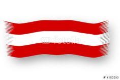"""Laden Sie den lizenzfreien Vektor """"Austria Flag"""" zum günstigen Preis. Stöbern Sie in unserer Bilddatenbank https://de.fotolia.com/partner/200576682 und finden Sie schnell das perfekte Stockbild !"""
