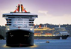 Queen Mary 2, Cunard Line