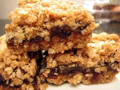 date squares....for some special people in my life!