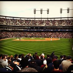 Opening Day in Detroit! Eat em up Tigers!