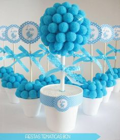 thank you gifts for baby shower Shower Party, Baby Shower Parties, Baby Boy Shower, Baby Shower Gifts, Baby Showers, Mesas Para Baby Shower, Bar A Bonbon, Sweet Trees, Creation Deco