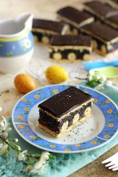 ~ PÖTTYÖS MÁKOS SÜTEMÉNY ~ | Juditka konyhája | Bloglovin' Poppy Seed Dessert, Winter Food, Fudge, Nutella, Tiramisu, Favorite Recipes, Sweets, Cookies, Ethnic Recipes