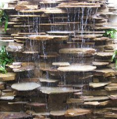 I could build my own vertical fountain with stuff sticking out like this one...