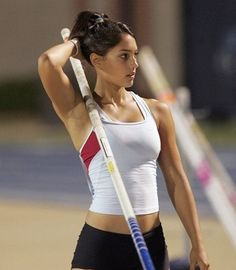 female athletes allison stokke olympics coming up here soon eh? Female Volleyball Players, Sexy Golf, Modelos Fitness, Pole Vault, Beautiful Athletes, Athletic Girls, Fantasy Baseball, Sporty Girls, Sports Stars