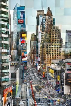 TImes Square photocollage // © Pep Ventosa a site to see