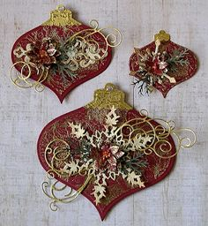 Spellbinder Heirloom Ornaments 2011