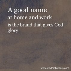 """Brand Integrity: """"What is my personal and professional brand? Are they the same? Do they align around the glory of God? My brand integrity is based on my promise to be who I claim to be. If I claim to be a person of compassion, do I show up when friends and family are suffering? Read More: http://www.wisdomhunters.com/2014/07/brand-integrity-2/"""