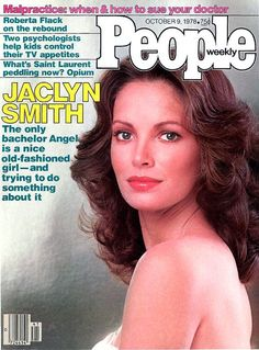 People Magazine - October 1978 - Jaclyn Smith on cover People Magazine, Cool Magazine, Life Magazine, Magazine Covers, Jaclyn Smith, Old Magazines, Vintage Magazines, Roberta Flack, Doctor Help