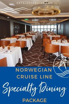 Complete Guide to Norwegian Cruise Line Specialty Dining Package - Our Complete Guide to Norwegian Cruise Line Specialty Dining Packages will help you decide if one is a good value for you in 2021. #cruise #cruisetips #cruiseplanning #cruisefood #eatsleepcruise