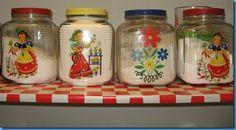 vintage pantry