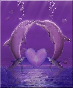 Glitter Dolphin   StellaDiFuoco il Mar Giu 14, 2011 12:26 am Have a beautiful day!!