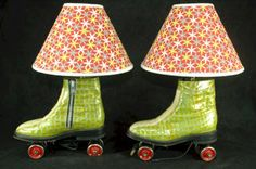 I can only imagine these rollerskates have significance to someone