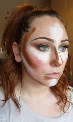Kim Kardashian Contour Make-up | Suzy Clarke Make-up Art...